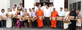 """From Your Laptop to Their Future"" - Laptops awarded to deserving University students"