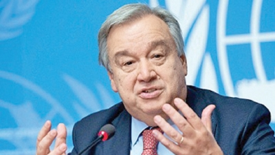 UN SG condemns Easter Sunday attacks