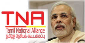 TNA team to meet Modi on next Saturday