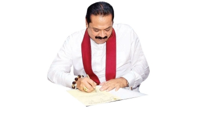 Chambers hail appointment of Mahinda Rajapaksa as FM