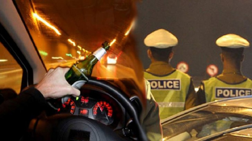 Over 1000 drunk drivers arrested during the New Year