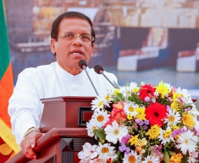 Lanka's main concern is achieving a sustainable future – President