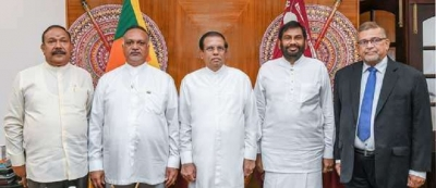 Three  new ministers sworn in