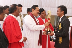 President at 60th anniversary celebrations of Colombo Mahanama College