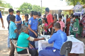 Navy conducts Two field Medical Clinics in Mannar