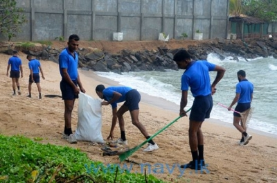 Navy takes to beach cleaningto making pollution-free coastal belt