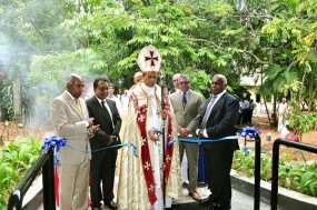 "S. Thomas' College inaugurates new ""Commerce Block"" in memory of the late Deshamanya AYS Gnanam"