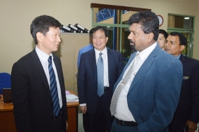 Korean Football Association President calls at FFSL