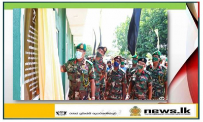 Commander as Chief Guest Visits SLAVF HQ Complex & Inaugurates Development Projects