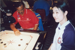 Sri Lankan Team for 4th World Cup Carrom Championship