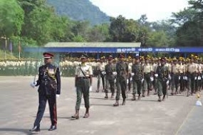 Forty one cadet officer enlisted for 54th in take