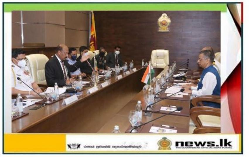 Defence Secretary appreciates the support of ICG vessels