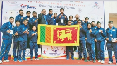 Boxing haul of 11 medals marks Sri Lanka's best