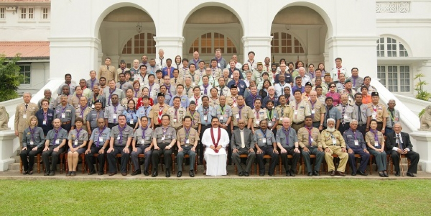 President Meets Scout Leaders of Asia Pacific Region