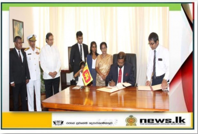 New Foreign Secretary Admiral Prof. Jayanath Colombage assumes duties