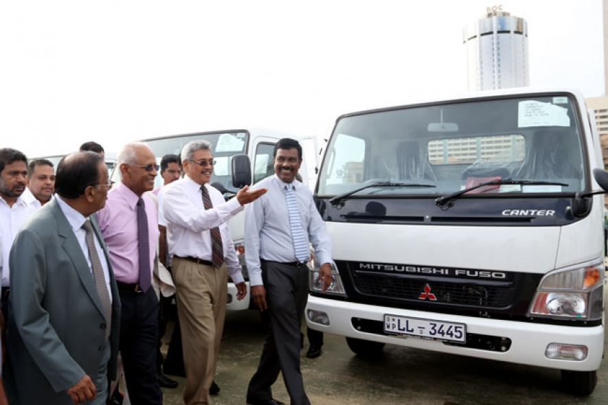 Handing over of Utility Vehicles