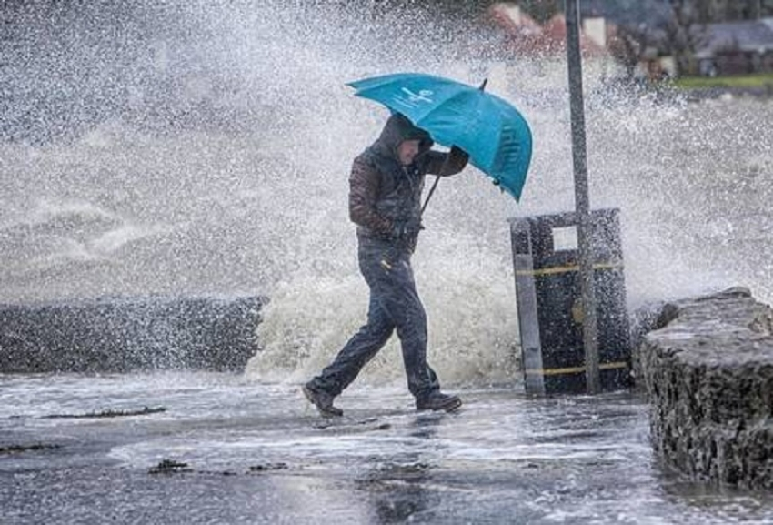 Several spells of showers will occur in some provinces.