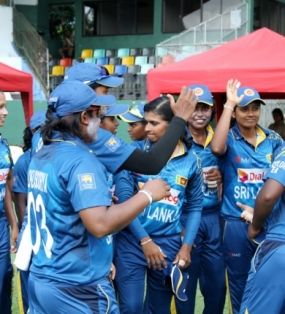 Sri Lanka Women Cricketers beat West Indies