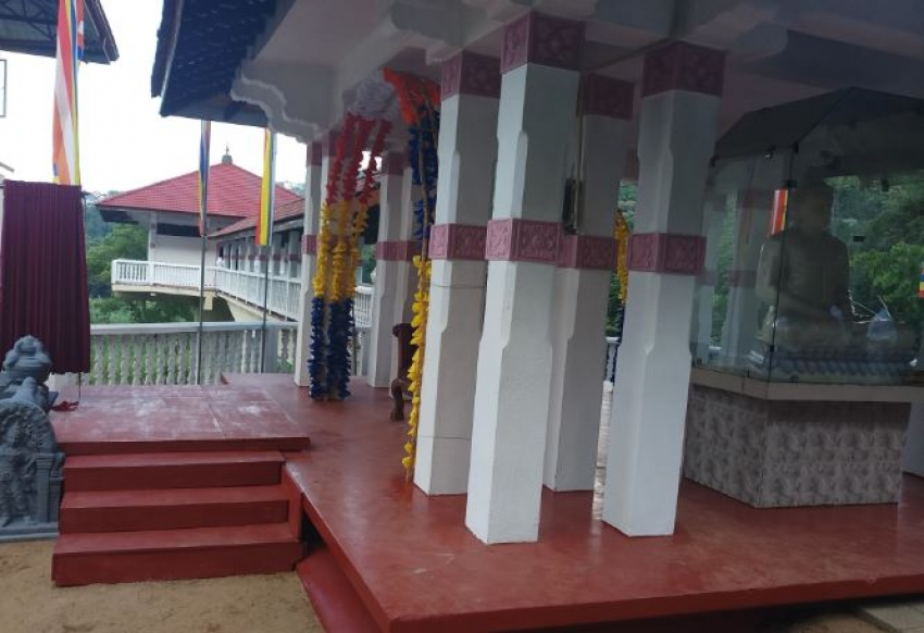 HE the President Opens Army-Erected Three-Storied 'Dharmashala' in Kandy