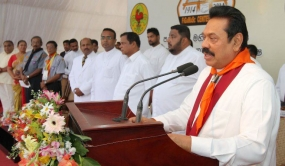 Galle District Scout Movement have demonstrated their commitment to national unity - President