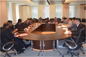 Dr. P. B. Jayasundera, meets Senior Most Technocrats of The  Government of Japan