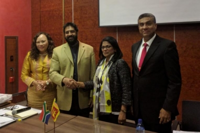 Senior Officials of the Sri Lanka – South Africa Partnership Forum meet in Pretoria