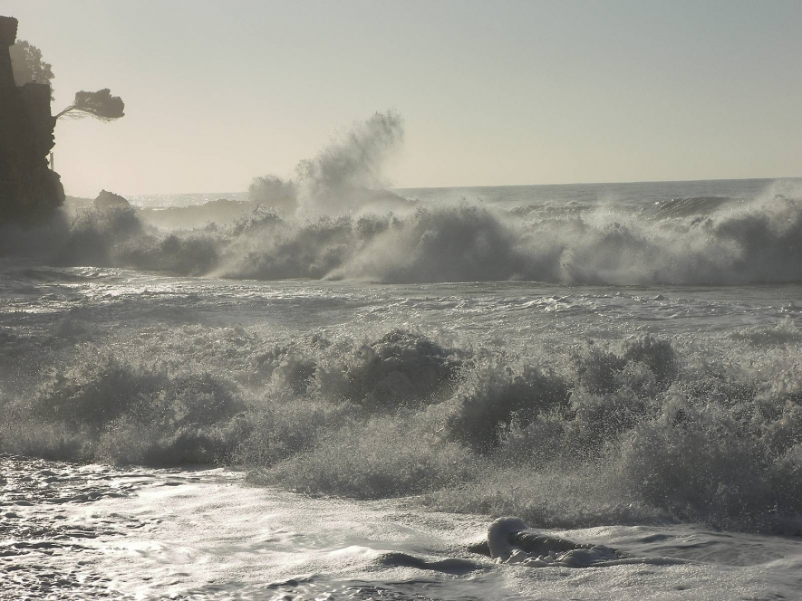 Severe weather advisory: Strong winds, heavy showers and rough seas
