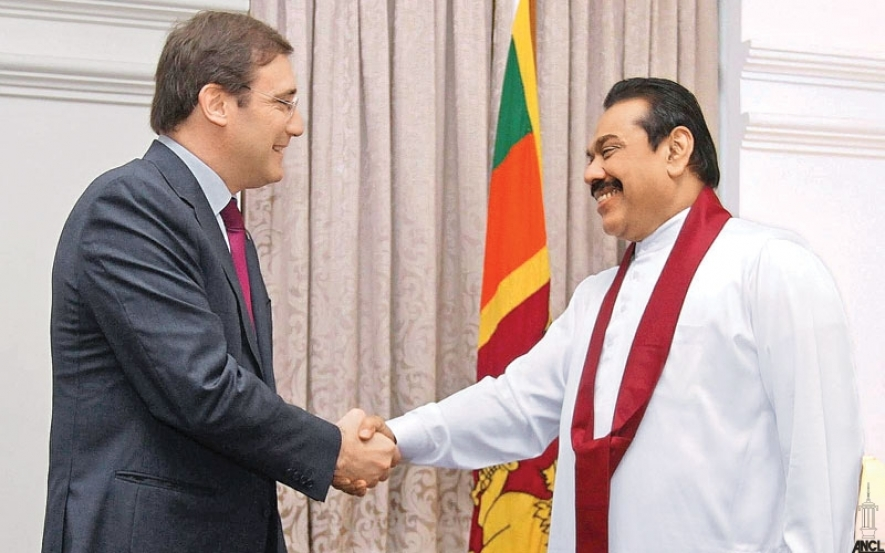 President Rajapaksa and Portugal Prime Minister Hold Talks