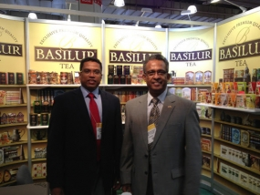 Ceylon Tea attracts visitors at North America's largest Food & Beverage Fair