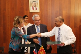 AFD provides a Loan of USD 70 million for Ambatale Water Supply System Improvement
