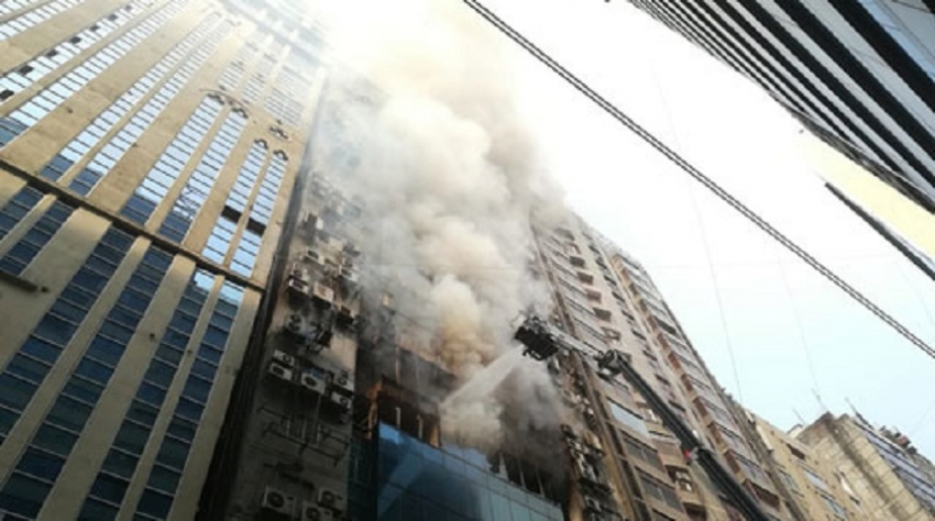 Dhaka fire under control, Sri Lankan among the dead