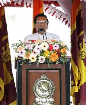New President Maithripala Sirisena's address to the Nation