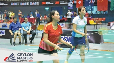 Sri Lanka finishes Masters Badminton on high note