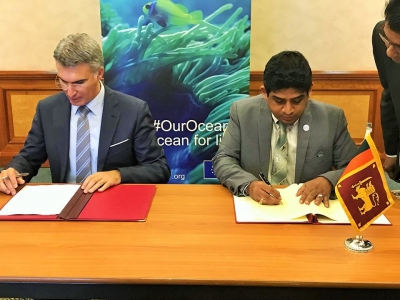State Minister attends the 'International Our Oceans' Conference