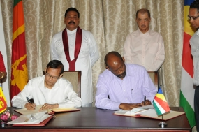 'Unique relationship' of Seychelles and Sri Lanka - 6 agreements signed