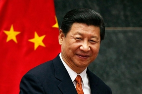 Chinese President Xi Jinping arrives on Sept.16