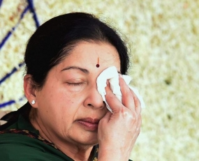 Jayalalithaa, prisoner No. 7402, in VVIP cell 23