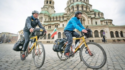 20,000km bike ride to deliver a Rugby World Cup whistle