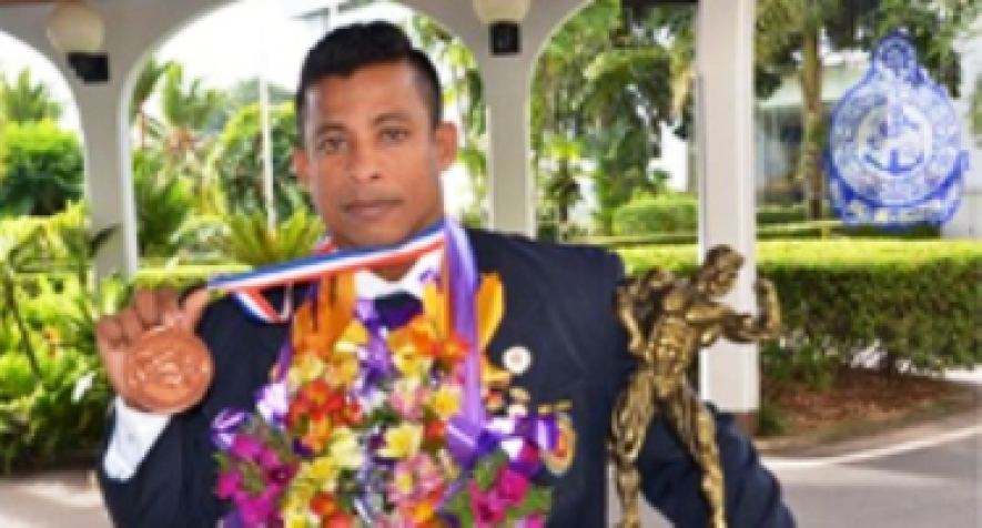 Able Seaman wins IFBB Bronze Medal