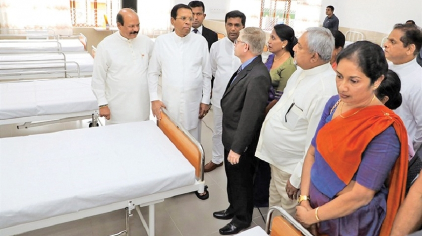 New Ayurvedic ward complex for Pallekelle