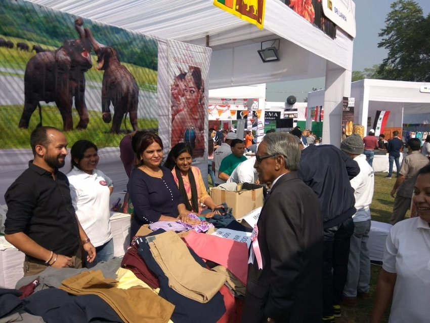 LANKA PARTICIPATES IN THE DELHI DCWA INTERNATIONAL BAZAAR
