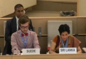 Sri Lanka briefs Human Rights Council on action taken by Government following incidents of communal violence