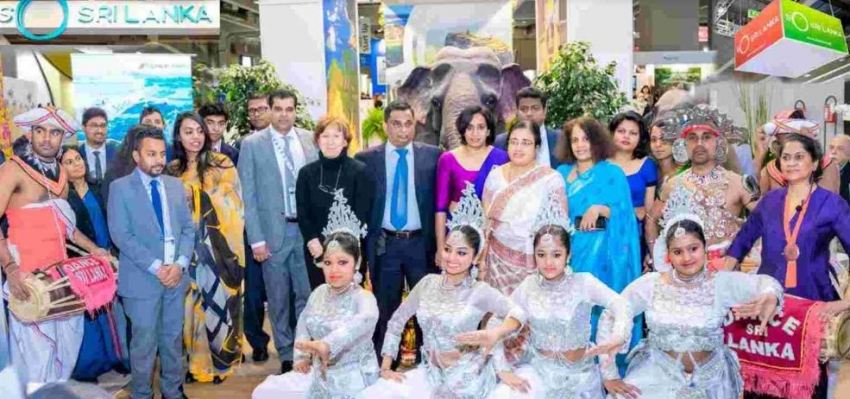 Sri Lanka represents BIT International Travel Exhibition in Milan, Italy
