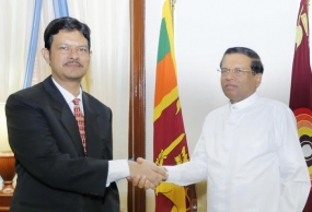 Bangladesh High Commissioner meets Sri Lankan President