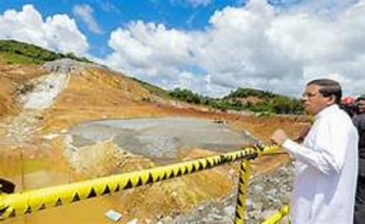 President to open Kaluganga reservoir sluice gates next month