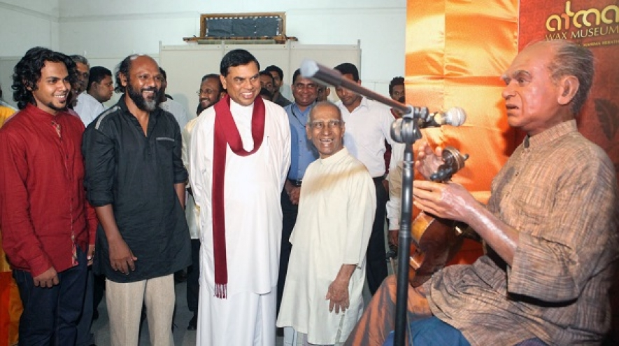 First Wax Statues Exhibition in Sri Lanka