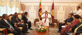Tanzanian Foreign Minister Calls on President Rajapaksa