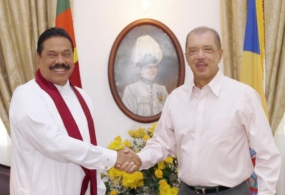 Sri Lanka and Seychelles Sign 6 Agreements Including Establishment of a Joint Commission
