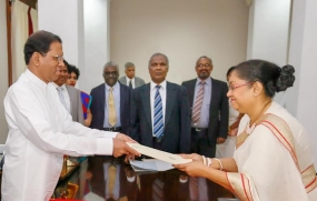 Justice Hema Kumudini Wickramasinghe takes oaths as Appeal Court Judge