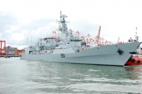 Pakistan Naval Ships in Sri Lanka on a Goodwill visit